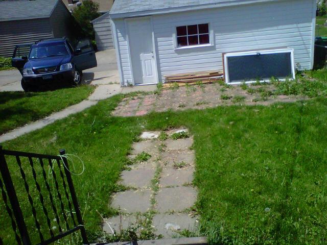 Backyard Before #2
