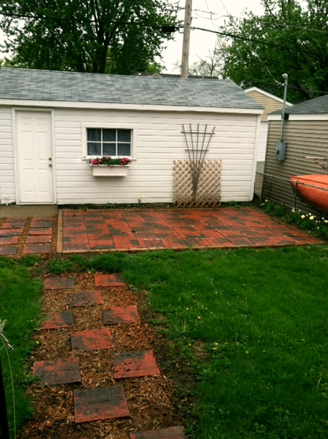 Backyard During 1