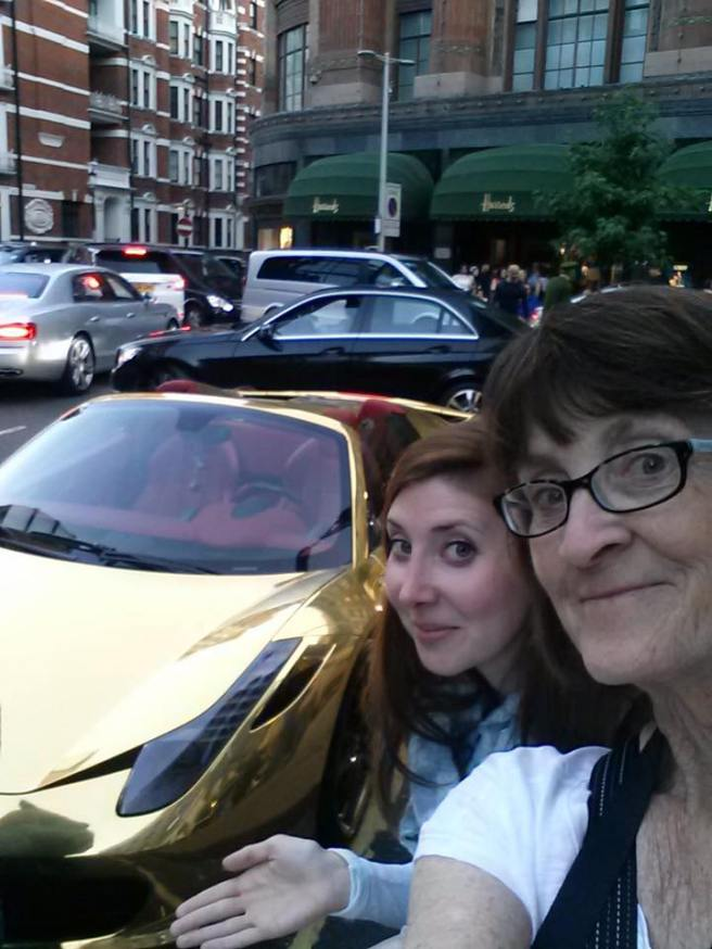 Harrods Ferrari
