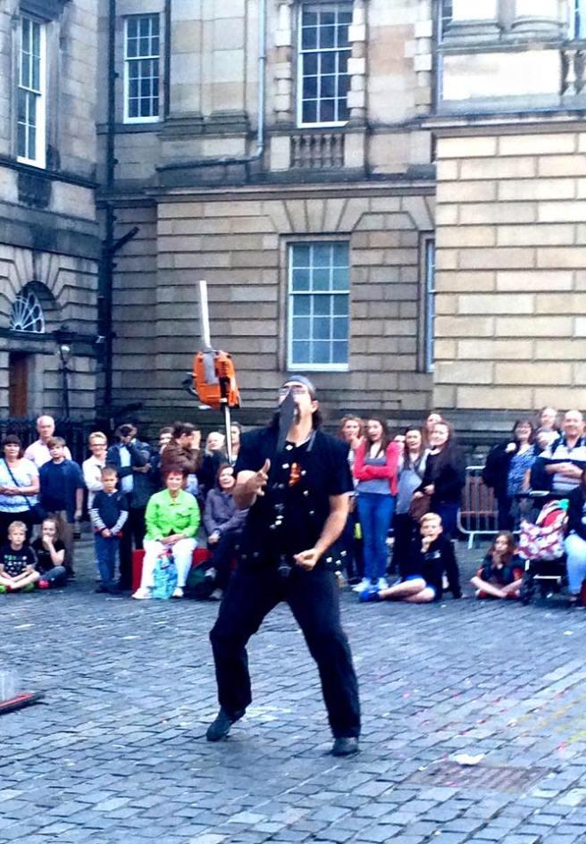 Busker Edinburgh 2